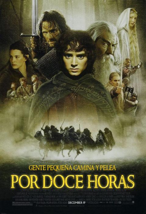 póster de el señor de los anillos si dijera la verdad