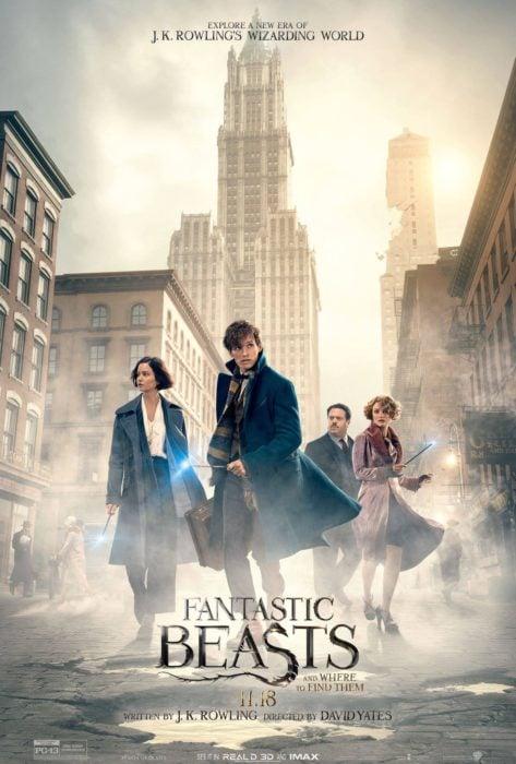 póster de la película fantastic beast