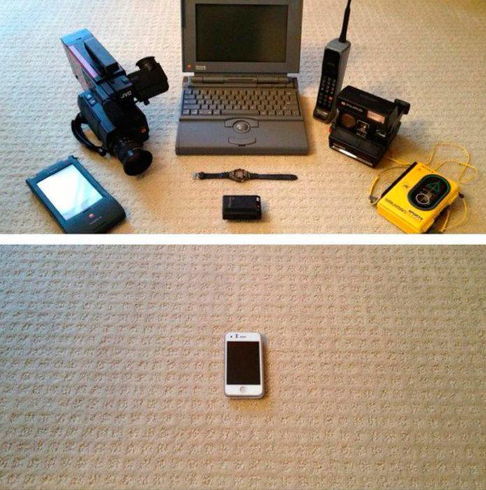 toda la información que cabe en un celular