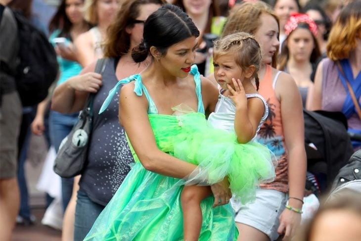 las kardashian se visten como sus hijas