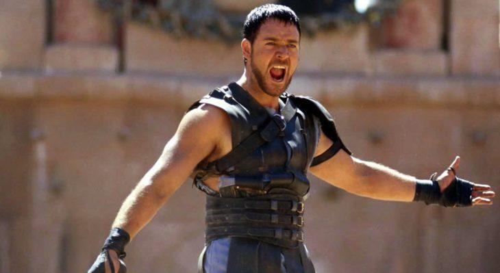escena de gladiador