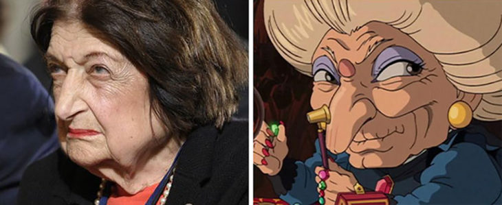 Helen Thomas y Yubaba de Spirited Away