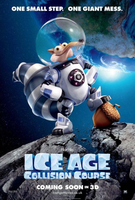 póster de la era de hielo choque de mundos