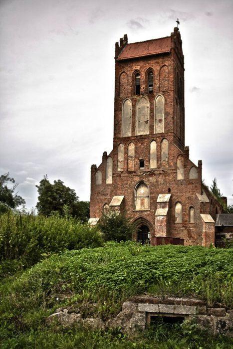 iglesia rusa abandonada