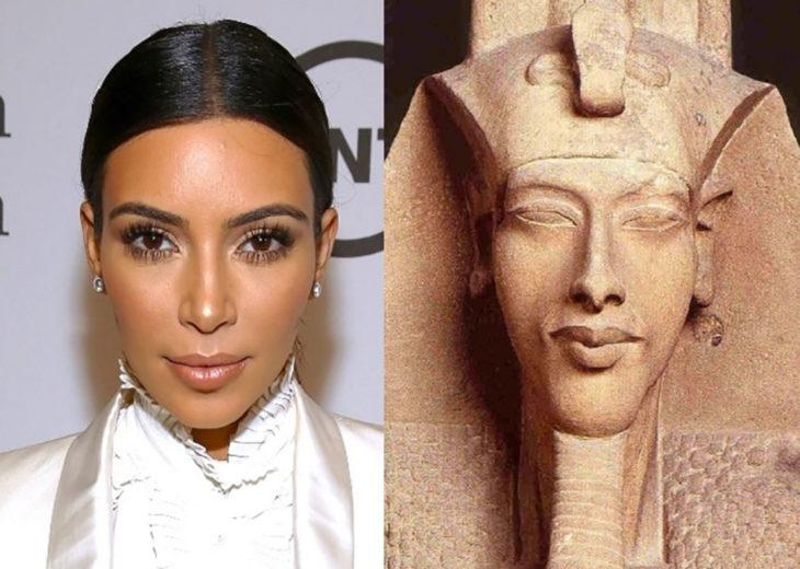 kim kardashian y akenaton