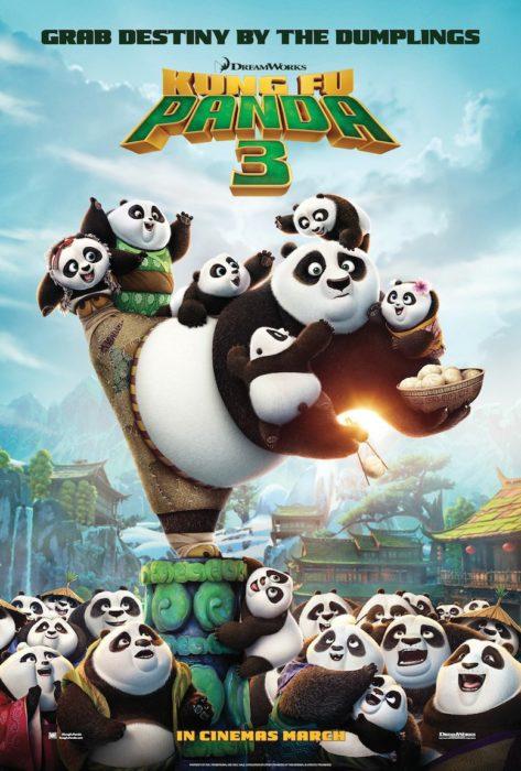 póster de kung fu panda 3