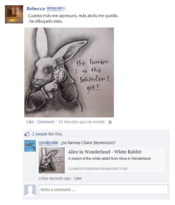 mentira sobre dibujos en redes sociales