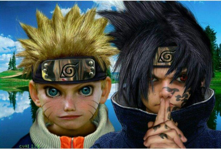naruto y sasuke si fueran reales