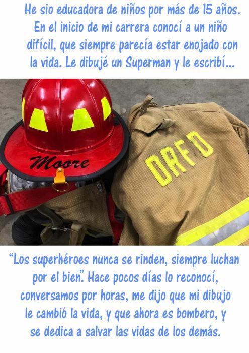 vestimenta de bombero