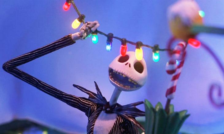 escena de pesadilla antes de navidad