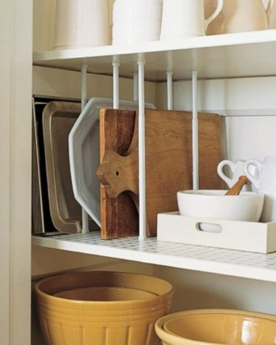 estante de tablas de cocina