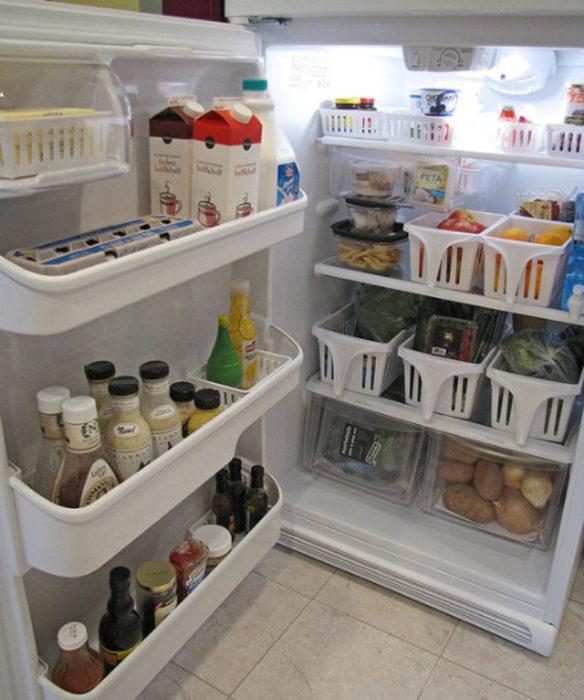 cajones para refrigerador