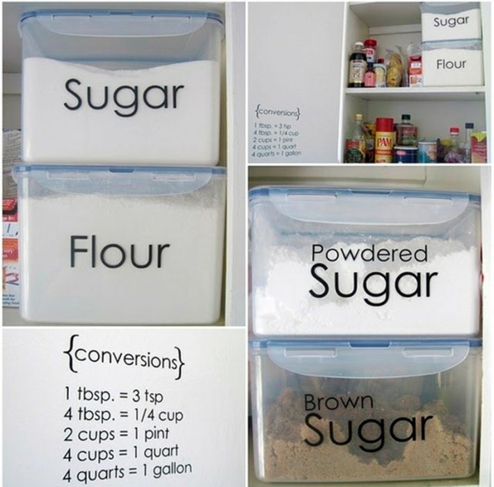 contenedores apilables para alimentos a granel