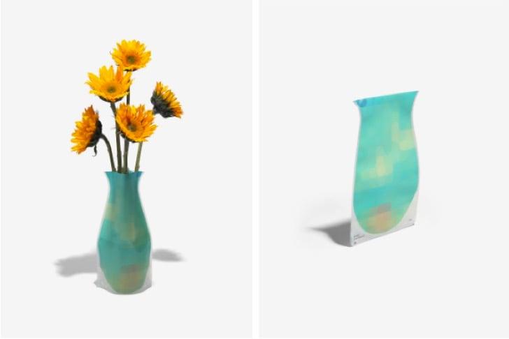 florero que se adapta al tamaño de las flores