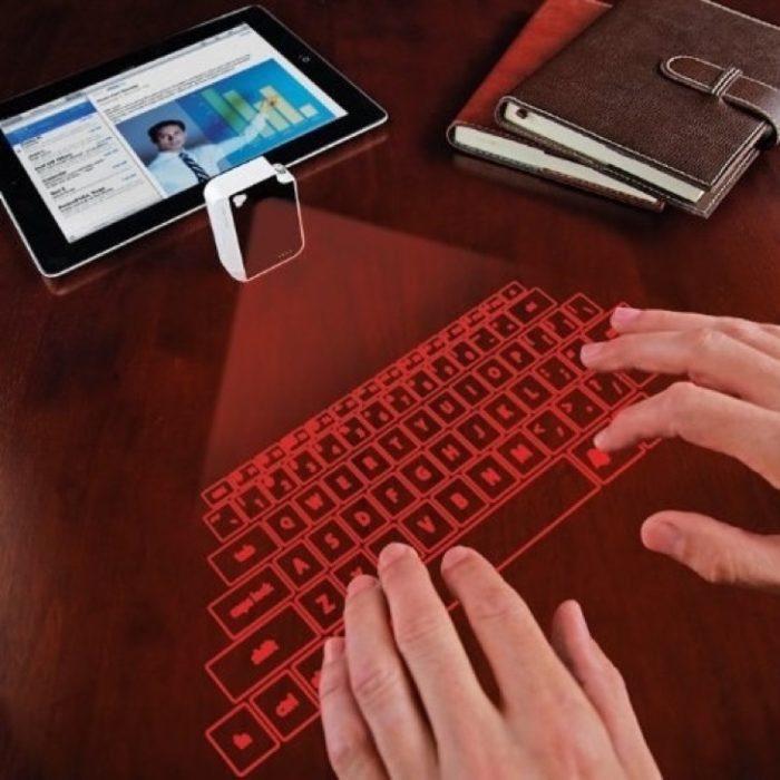 teclado de olograma