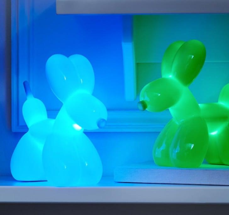 lámparas con formas de globos