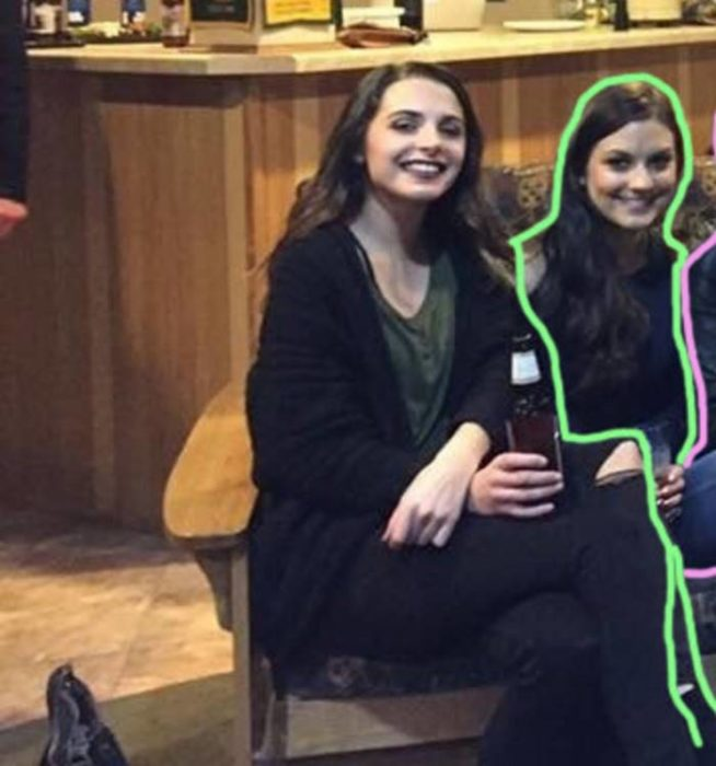 misterio resuelto de la foto de la chica sin piernas