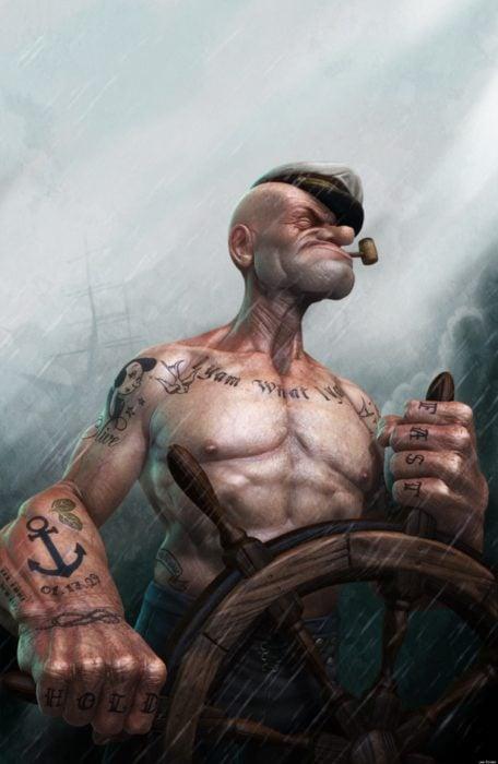popeye el marino si fuera real