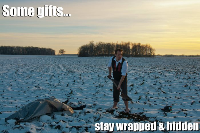postal navideña con humor