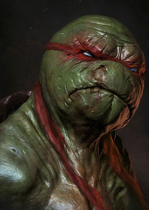 rafael de las tortugas ninja si fueran reales
