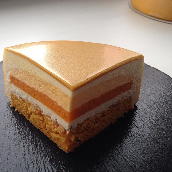 rebanada perfecta de pastel