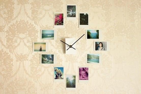 reloj de fotografías