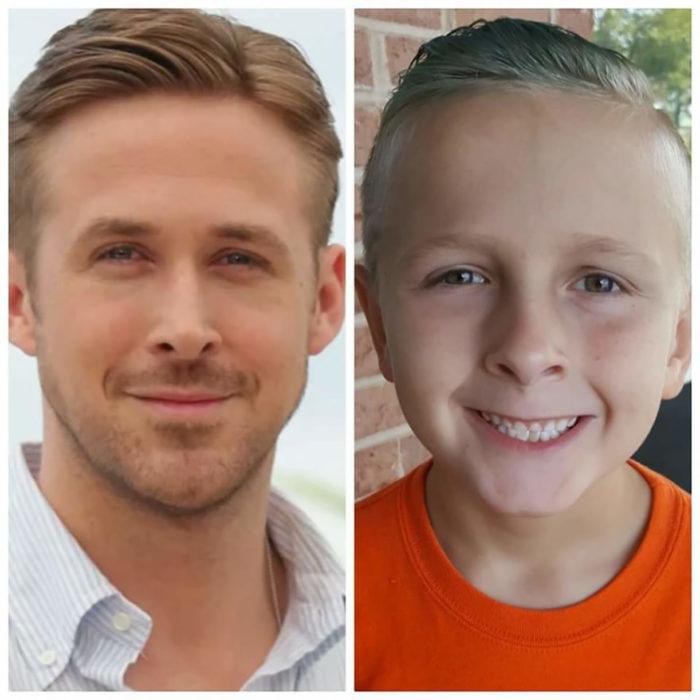 niño que se parece a ryan gosling