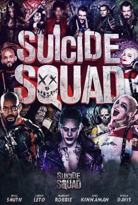 póster de la película suicide squad