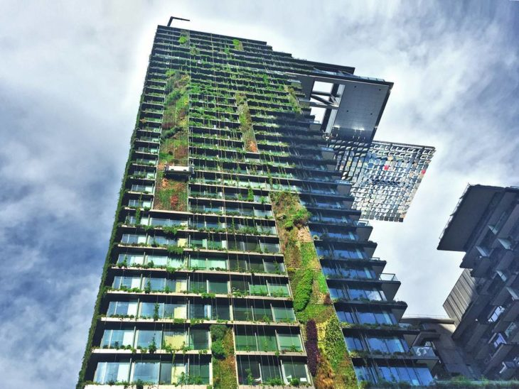 edificio con naturaleza en Taiwan