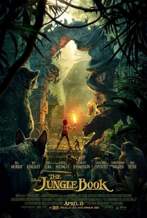 póster de película el libro de la selva