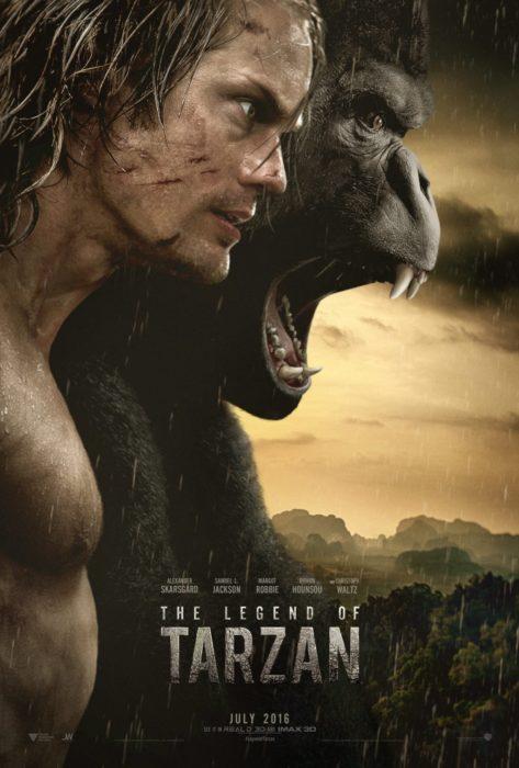 póster de la leyenda de tarzán