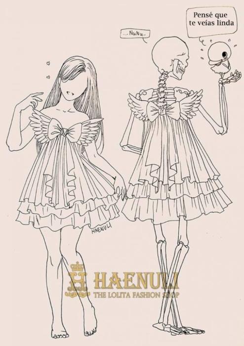 vestidas como gemelas