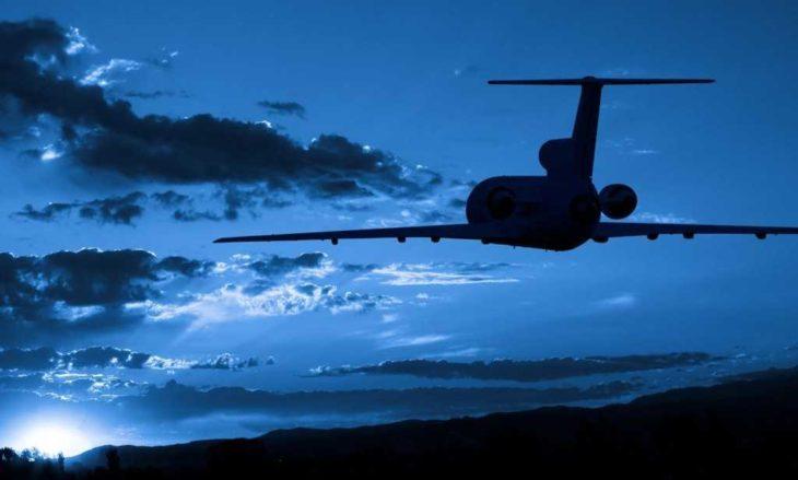 vuelo de madrugada