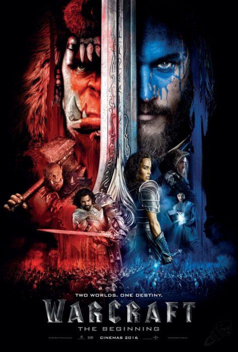 póster de película warcraft