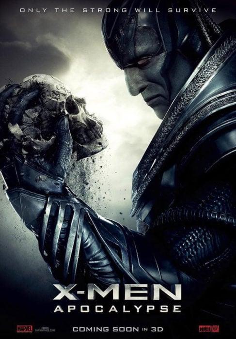 póster de x men apocalipsis