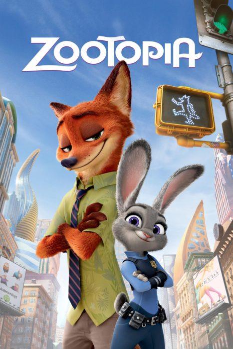 póster de película zootopia