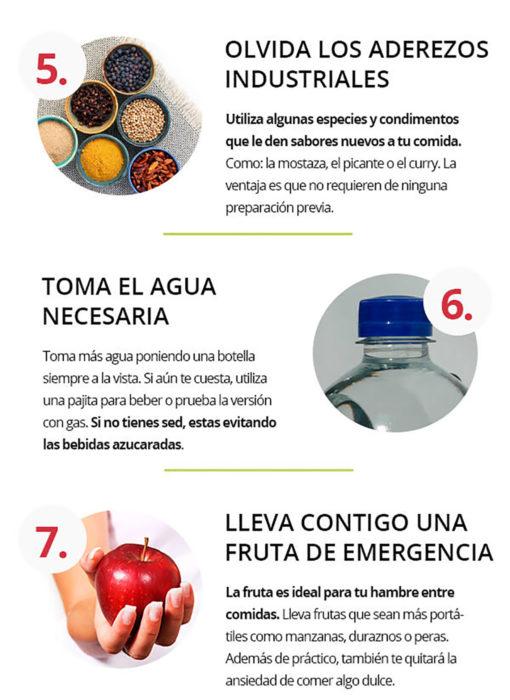 infografía sobre alimentación saludable parte 3