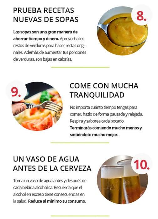 infografía sobre alimentación saludable parte 4