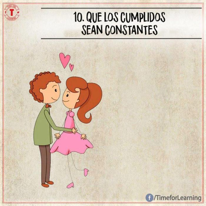 Ilustración amor - cumplidos
