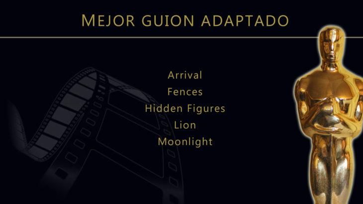 Oscares 2017 - lista de peliculas nominadas para mejor guion adaptado