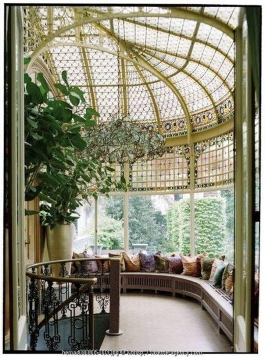 10 cosas casa ideal un enorme gazebo de cristal