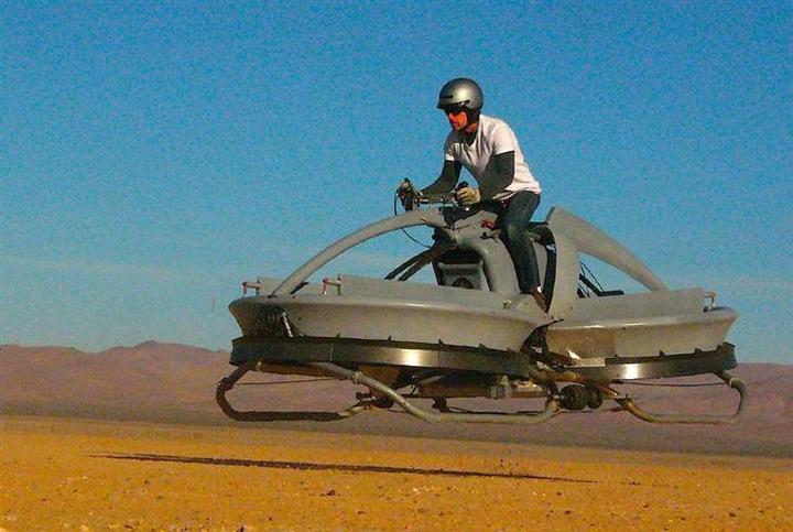 10 gadgets futuristas hoverbikes 10