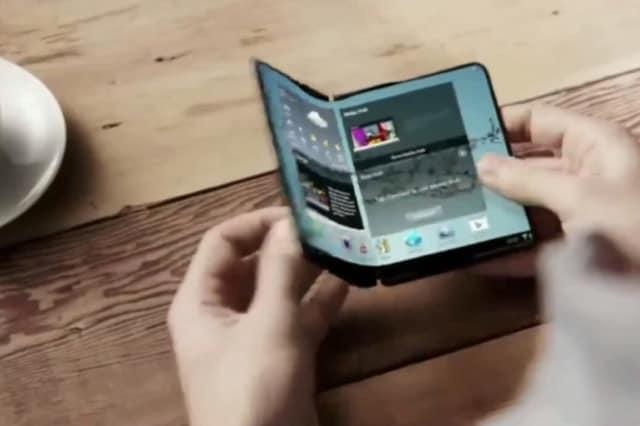 10 gadgets futuristas telefono plegable 4