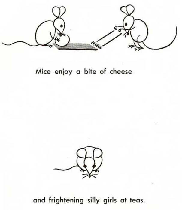 dibujar ratones plantilla