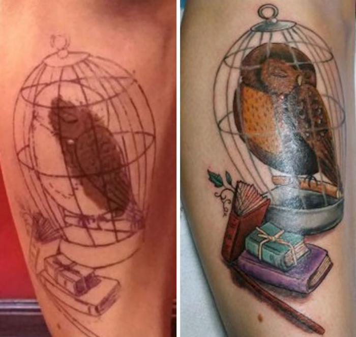 10 tatuajes cicratices creativos 10