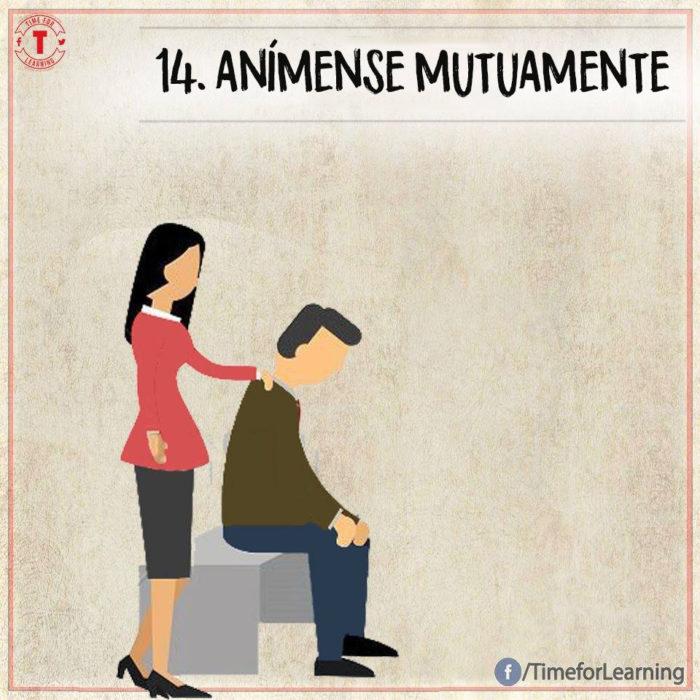 Ilustración amor - anímense