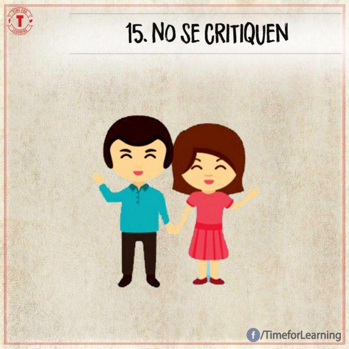 Ilustración amor - no se critiquen