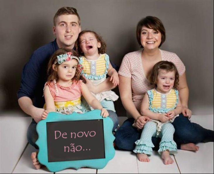 familia anuncia la llegada de otro bebé