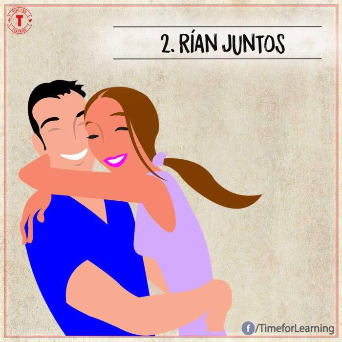Ilustración amor - rían