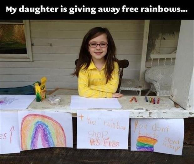 20 fotos para creer en la humanidad regalar arcoiris